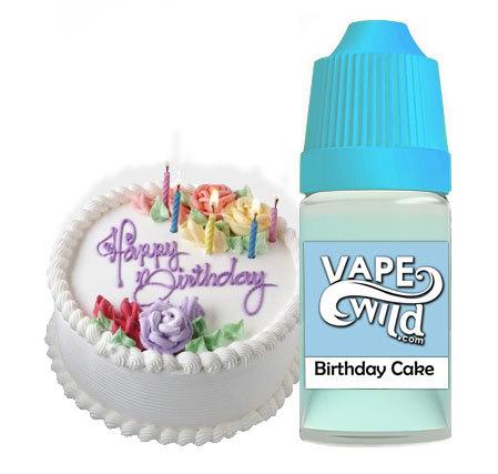 Vape Wild Birthday Cake