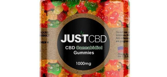 Gummy Worms Jar By Just CBD Review